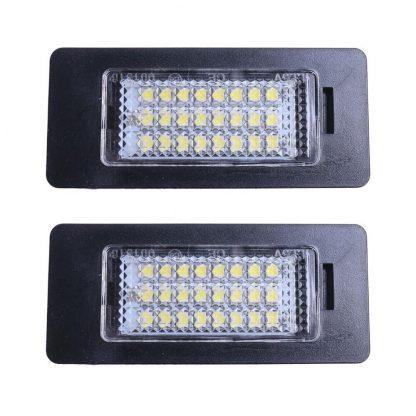 Hot Selling 2 x 24 LED License Plate Number Lights For BMW E90 M3 E92 E70 E39 F30 E60 E61 E93