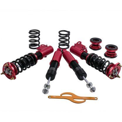 4PCS Suspenison Coilover Coil Spring Struts For Honda Civic 2006-2011 Shock Absorbers Struts
