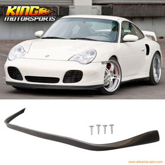 Fit For Porsche 996 911 4S Coupe Turbo OE Style No Hole Carrera Front Bumper Lip Spoiler