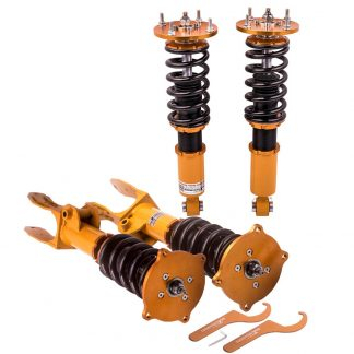 24 Ways Adjustable Damper Coilovers for Porsche Cayenne Sport 4-Door 2008-2010 Shock Absorbers