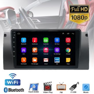 pxmos Auto Car Electronics For BMW E39 E53 X5 9'' Android 9.1 1+16GB Car Stereo Radio GPS WIFI 3G 4G BT DAB Interior Accessories