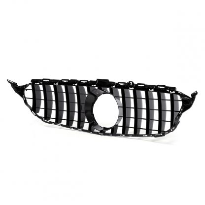 W205 GT R For GTR For AMG Car Front Bumper Grill Grille For Mercedes For Benz W205 For AMG Look C200 C250 C300 C350 2015-2018
